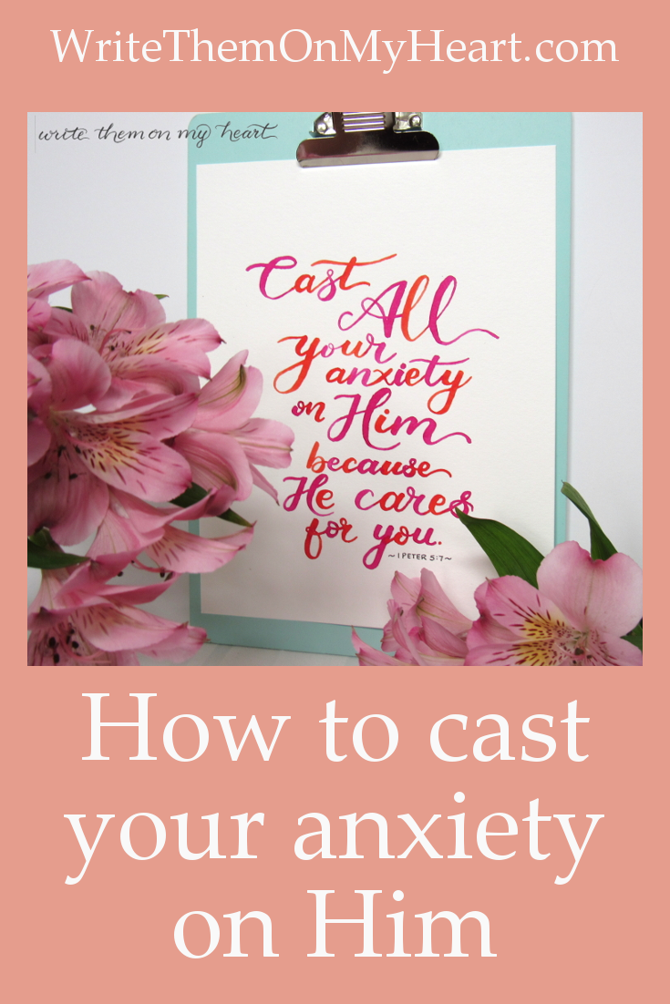 What does it look like to cast your anxiety on God? Let's dig in to 1 Peter 5:7.