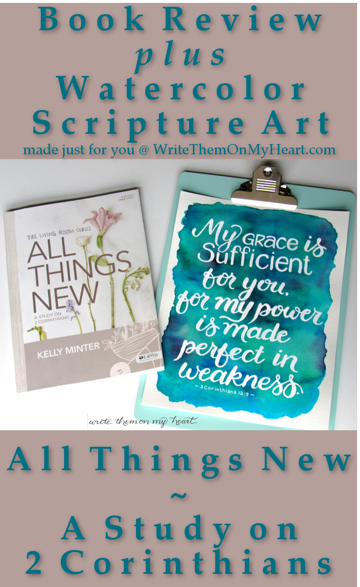 A Book Review of All Things New - Plus Printable! Going deep into 2 Corinthians