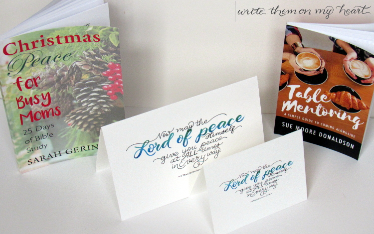 Want a How-to book for mentoring or finding peace during the holidays? Sarah Geringer and Sue Donaldson both wrote books I wish I would have had years ago!