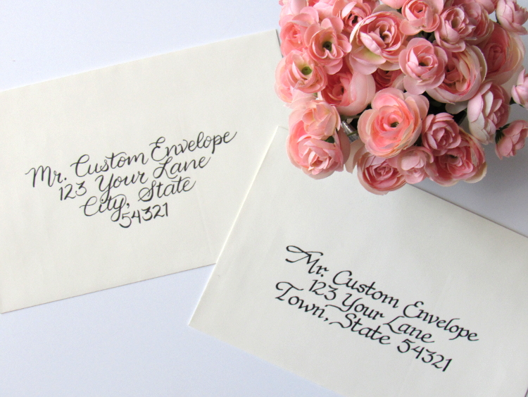 Wedding Envelope Addressing Service Available