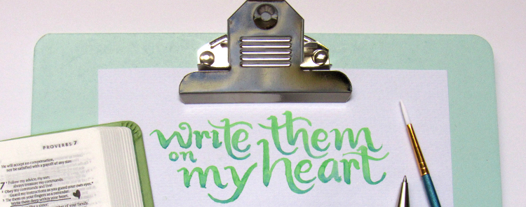 Write Them on My Heart